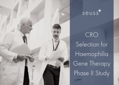 CRO Selection for Haemophilia Gene Therapy Phase II Study